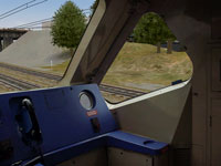 MSTS APT-P right cab view © R G Latham 2001
