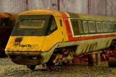 Weathered Hornby APT-P by Andrew Fisher