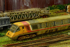 Weathered Scrapline Hornby APT-P by Andrew Fisher